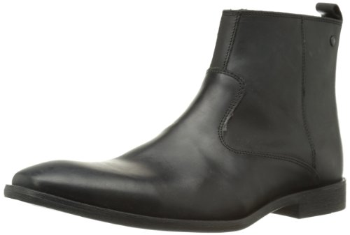 Base London Basil, Herren Stiefel Schwarz (waxy Black)