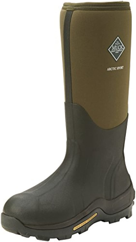 Muck Boots Arctic Sport Tall, Botas de Goma de Trabajo Adultos Unisex, Verde (Moss 333A), 48 EU