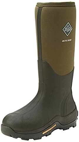 Muck Boots Unisex Adults Arctic Sport Tall Work Wellingtons, Green (Moss 333A), 7 UK 41 EU