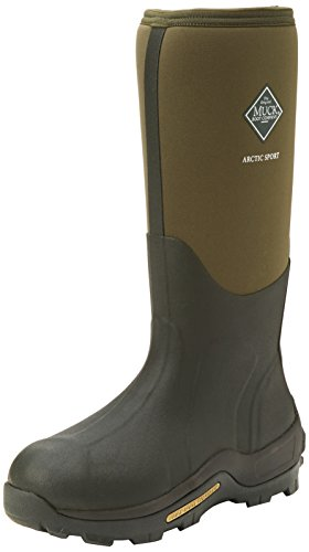 Muck Boots Arctic Sport Tall, Unisex Erwachsene Arbeits-Gummistiefel, Grün (Moss 333A), 44/45 EU (10 UK) (Tall Winter Boots Für Männer)
