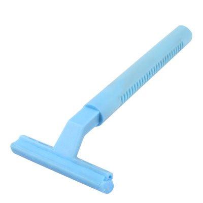 Sourcingmap Plastique en forme de T Woman sourcils tondeuse/rasoir/rasoir Outil, Bleu ciel