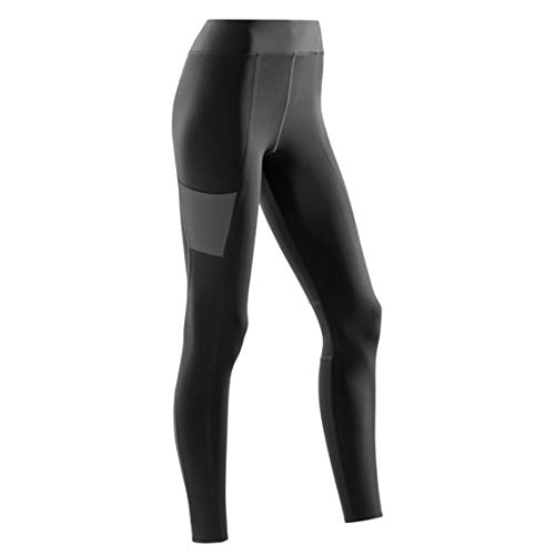 CEP - Training Tights für Damen | Lange Sporthose mit echter Kompression in schwarz | Größe M (Workout Shorts Plus Womens)