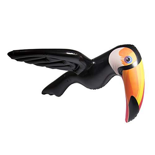 Folat 20727 - toucan gonfiabile, multicolore