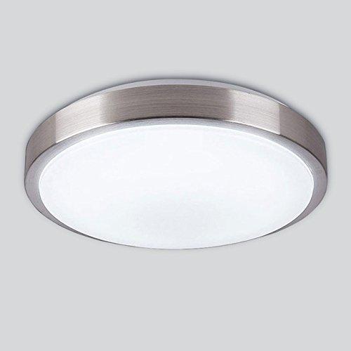 YJiaJu Deckenleuchte, Durchmesser 21cm 12W 24W Acryl Panel Aluminiumrahmen Edge Indoor Schlafzimmer Küche 3 Position LED-Licht (Color : 3 position-220V-24W) -