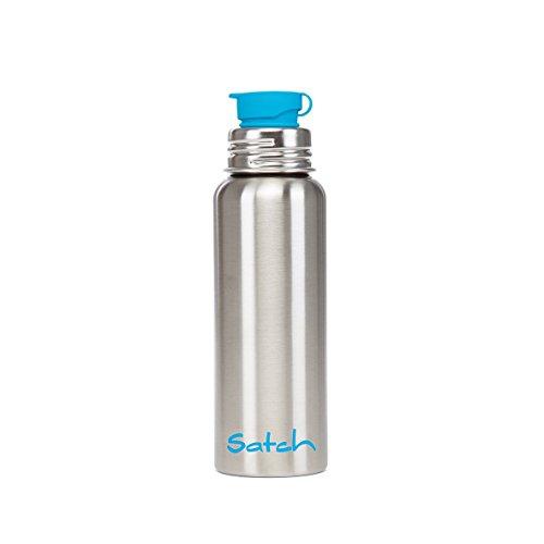Satch Zubehör Edelstahl-Trinkflasche 299 silber