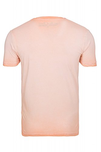 Cipo&Baxx T-Shirt Top Herren Super Optik Grössen M-L-XL-XXL Orange