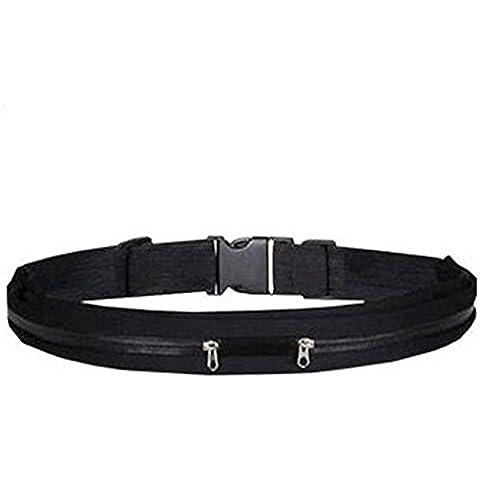 powerlead pfre R001Fit Cintura da Corsa per Uomo + Donna, per tutti gli iPhone e Accessori, completamente comoda cintura da corsa migliore cintura da corsa