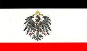Flagge Fahne Kaiserreich mit Adler 90x150cm