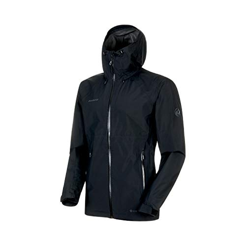 Mammut Herren Convey Tour Hardshell-Jacke Mit Kapuze, Black, XL - The Tex Face Gore North Jacke