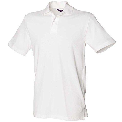 HenburyHerren Poloshirt White