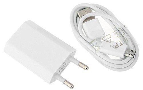 Reido Universal Micro-USB Ladegerät & Datenkabel für Samsung Galaxy Modelle | USB-Adapter Set | Ladekabel inkl. Netzteil | USB-Kabel | Samsung S5 i9300 S6 G920 S7 G930 | Huawei Modelle