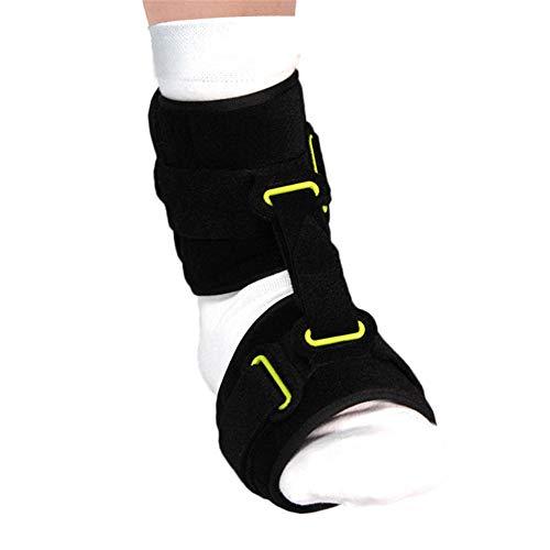 QINAIDI Fußtropfenorthese für zerebrale Hemiplegie und Poliomyelitis, Knöchel Valgus Korrekturgürtel - Aircast Sport-knöchel-steigbügel