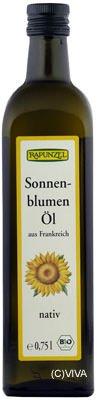 Rapunzel Sonnenblumenöl nativ, 0,50l