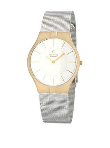 Obaku V122GGCMC - Reloj de pulsera hombre, Acero inoxidable, color Plateado
