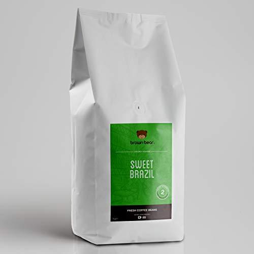 Brown Bear Sweet Brazil Hell/Medium Kaffeebohnen 1 kg