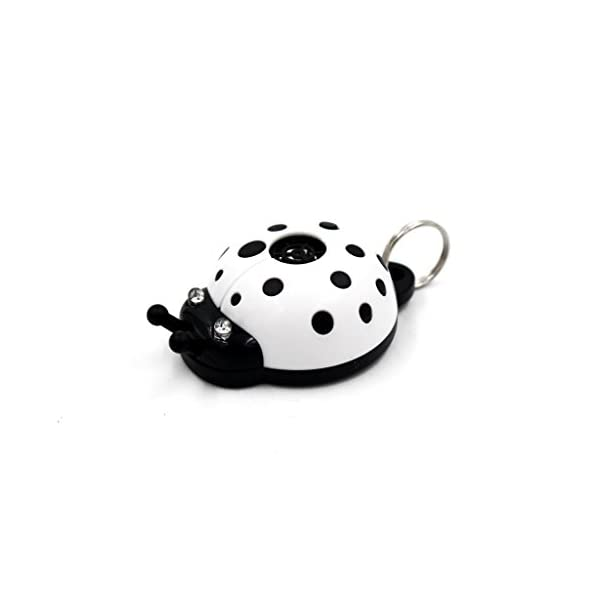 2018 Best Safe Ultrasonic Electronic Tick, flea and mosquito repellent and pest prevention control, multicolour collar ladybug pendant for dogs, cats, puppies and other pets - 10 months pest repeller, No Odor, LED Indication, Non Toxic 3