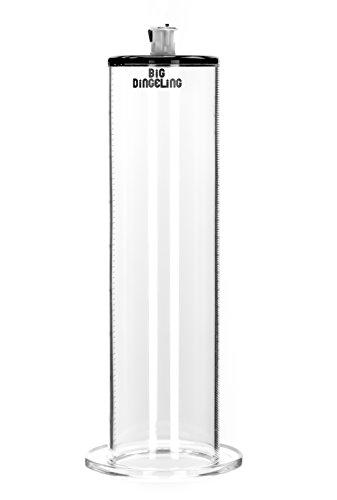 BIG DINGELING Maximizer Tube, Zylinder für Penispumpe, maximale Saugkraft, Länge 23cm, verschiedene Durchmesser (63mm)