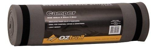 Oztrail - Colchoneta de espuma de 8mm Earth Mat Camper EMF-EM08-A esterilla, colchoneta de camping, para acampar 195x50x0.8cm 330gr colchón aislante