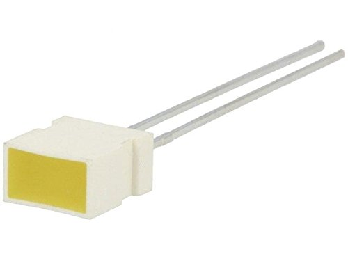 4x L-1043YDT LED rectangular 6.15x3.65mm with side wall yellow 2-8mcd -