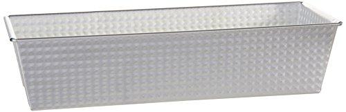 Zenker 6814 Moule à Gâteau Plaque de Tôle Argent 30,5 x 11,5 x 7 cm