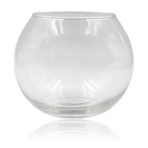 Glass Fishbowl Vase 30cm x 24cm