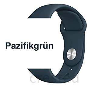 Armband für Apple Watch in Pazifikgrün 38/40mm passend für Apple Watch 1 2 3 4 5