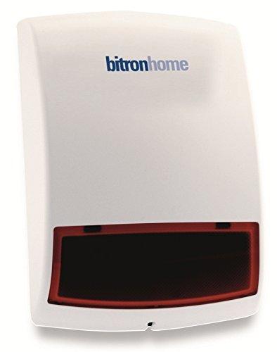 Bitron Home Außensirene mit Blinklicht, weiß, 902010/29