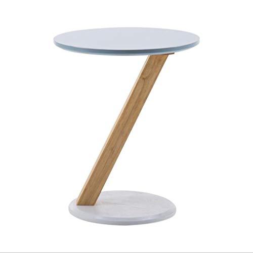 Dsrgwe Beistelltisch, Z-förmiger Sofa-Beistelltisch-Couchtisch-Kleiner Tisch-Fester hölzerner Endtisch für Wohnzimmer, Büro (Color : A, Size : 40CM) - Buche Kirschbaum-schrank