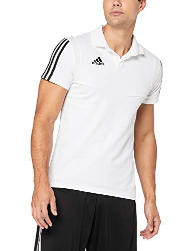 adidas Herren TIRO19 CO Polo Shirt, White/Black, - Tennis Shirt Adidas