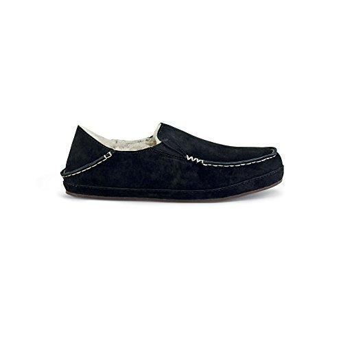 OluKai 20269-6c6c, Pantofole donna Black/black