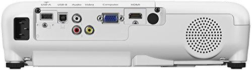 31BPCTP84yL - Epson EB-X05 - Proyector XGA, Pantalla de hasta 300 pulgadas, 3.300 lúmenes, Tecnología 3LCD, Blanco