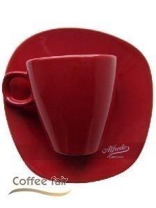 Alfredo Walküre Cappuccino-Tasse 6 Stk, rot