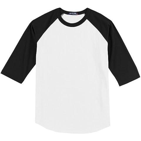 Ragazzi Raglan Baseball T-Shirt - Sport-Tek