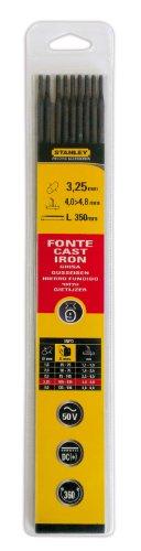Stanley 460734 - Electrodos de hierro fundido (9 unidades)