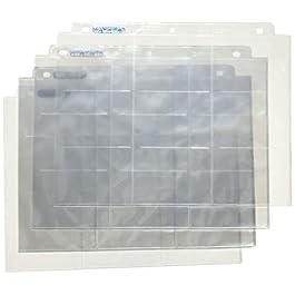 Ultra PRO 150122 – Silver Series, 100 Fogli per Raccoglitore di schede