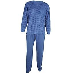weinrot Gr Herren Pyjama Schlafanzug blau S M L XL XXL schwarz braun