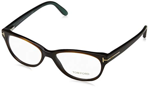 Tom Ford Damen Ft5292 Brillengestelle, Braun (AVANA SCURA), 53