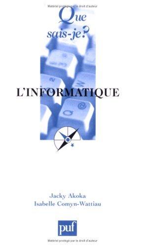L'Informatique by Jacky Akoka (2002-09-13)