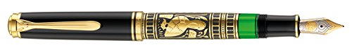 Pelikan Kolbenfüllhalter Toledo M 900 mit Bicolor-goldfeder 18-K/750