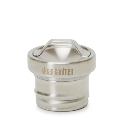 Cap Deckel (Klean Kanteen KCSSL-BS Flaschenverschluss Loop Cap, Silber)