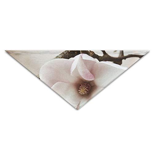 Gxdchfj Beautiful Plum Blossom Pet Dog Cat Puppy Bandana Triangle Head Scarfs Accessories -