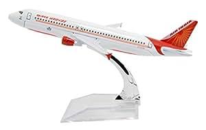 TANG DYNASTY(TM) 1:400 16cm Air Bus A320 New Air India Metal Airplane Model Plane Toy Plane Model