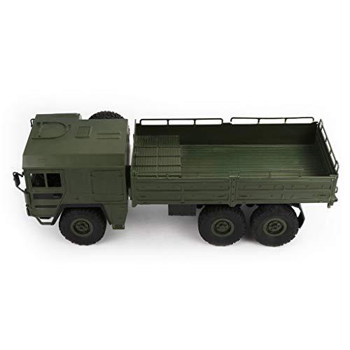 Ed Hardy Huyiko JJRC Q64 1/16 2,4G 6WD Rc Auto LKW Militär Offroad Rock Crawler RTR Spielzeug 6 Räder Racing Spielzeug Für Kinder Kinder Geschenke (Militär-lkw)
