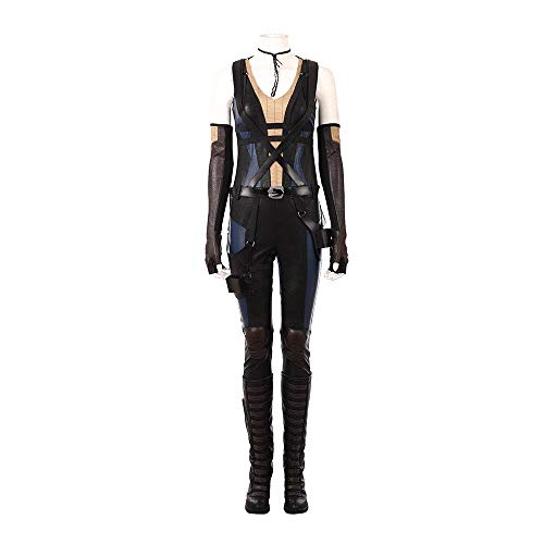 - Domino weibliches Cosplay-Kostüm - Zazie Beetz - - XXX-Large ()