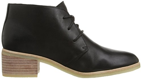 Clarks Phenia Carnaby Boot Black Leather