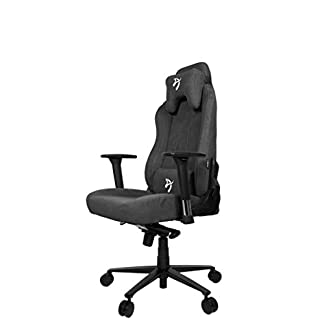 Arozzi VERNAZZA-SFB-DG Chair, Metal, Dark Grey, Large
