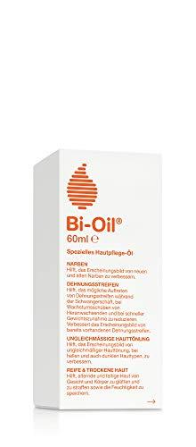 Bi-Oil Hautpflege-Öl , Spezielles Pflegeprodukt für Narben & Dehnungsstreifen (60 ml)