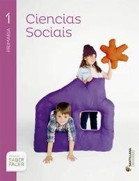 CIENCIAS SOCIAIS 1 PRIMARIA SABER FACER - 9788499722375 por Aa.Vv.