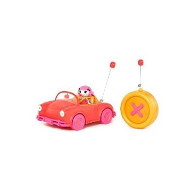 Lalaloopsy 510291 - Mini Lalaloopsy Coche Rc Car W/Exclusive Character, 27 Mhz (color rojo) de Bandai