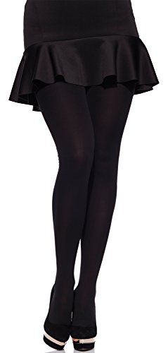 merry-style-womens-60-den-microfiber-tights-plus-size-ms-162-black-xxxl